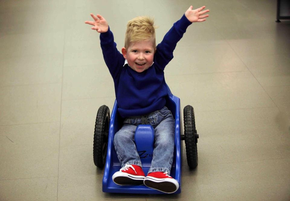 Child With 2% Brain Function Shocks Doctors By Making Unbelievable Progress
