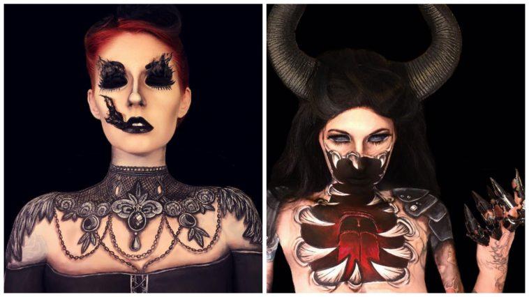 This Makeup Artist Creates The Spookiest Looks