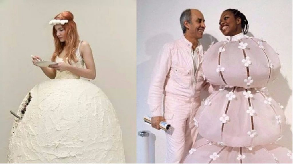 14 Of The Most Bizarre Wedding Dresses Ever!